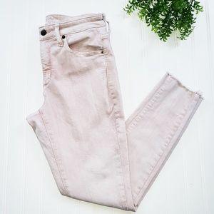 Universal Thread High Rise Pink Skinny Jeans sz 8